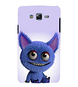 printtech Cute monster Cartoon Back Case Cover for Samsung Galaxy Quattro i8552 / Samsung Galaxy Quattro Win i8552