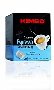 Shop for Kimbo Capsules Decaffeinated 20 piece by Kimbo