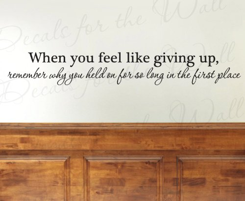 Decorating With Quotes In Wall Decals