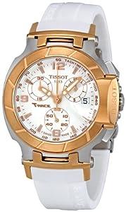 Tissot T Race Quartz White / Gold Women's Watch T048.217.27.017.00