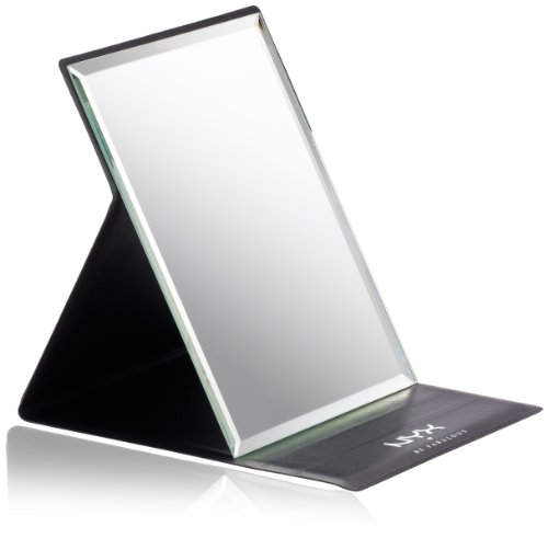 make up cosmetic mirror magnifier large light folded portable travel. Black Bedroom Furniture Sets. Home Design Ideas