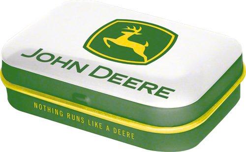 Scatola della pillola - John Deere Logo white