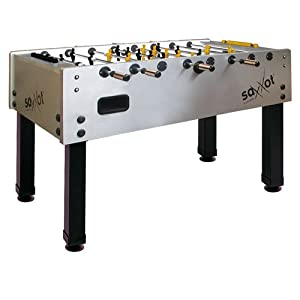 Garlando Master Cup Saxxot Foosball Table with Sanded Glass Playfield by Garlando
