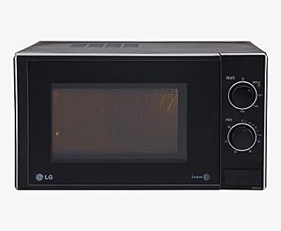 LG MS2025DB 20-Litre Solo Microwave (Black)