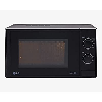 LG MS2025DB 20 ltr, Solo Microwave Oven (20 ltr, Black) (1)