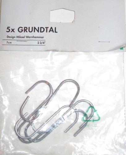 Ikea Küchenplaner Eckschrank ~ IKEA Grundtal 5 pc S Hook Hangers  2 75