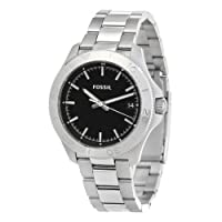 Fossil Retro Traveler Three Hand Stainless Steel Watch Am4441 from FOSSIL