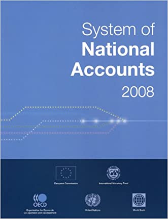 System of National Accounts 2008 (Studies in Methods (Ser. F))