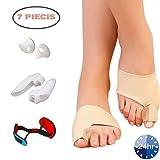 Bunion Corrector, Gel Bunion Relief Splint Protector Sleeve Kit for Women & Men, Orthopedic Bunion Brace Cushions Treat Hallux Valgus, Big Toe Joint a