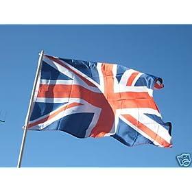 British Flag 3'x5' NEW Polyester 3x5 ft UK Union Jack