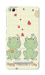 CimaCase Happy Valentines Designer 3D Printed Case Cover For Xiaomi Mi4i