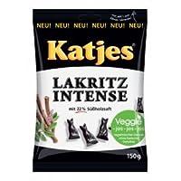 Katjes Lakritz Intense / Intense Licorice