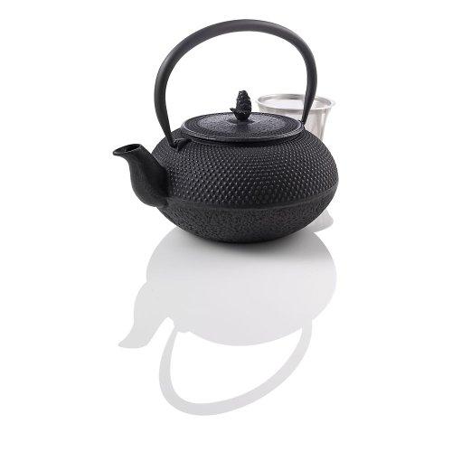 Teavana Medium Hobnail Black Cast Iron Teapot, 30Oz