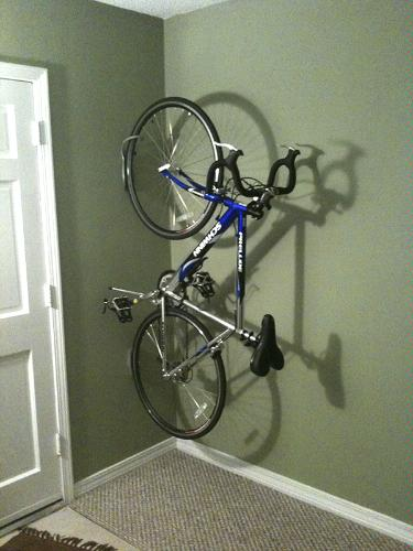 diy wall mount bike rack fahrradhalterung fr wand selber. Black Bedroom Furniture Sets. Home Design Ideas