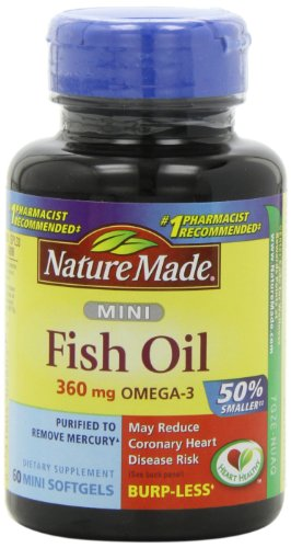 Nature Made Ultra Omega-3 Minis Fish Oil ,360 Mg Omega-3,  60-Count (Nature Made Ultra Fish Oil compare prices)