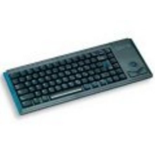Black,Ps/2,15ultra Slim  Int L 83 Position Key Layout, Track Ball,Mechanical Key