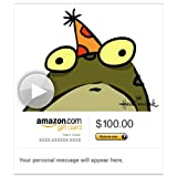 Amazon Gift Card - E-mail - Froggy Birthday (Animated) [Hallmark]