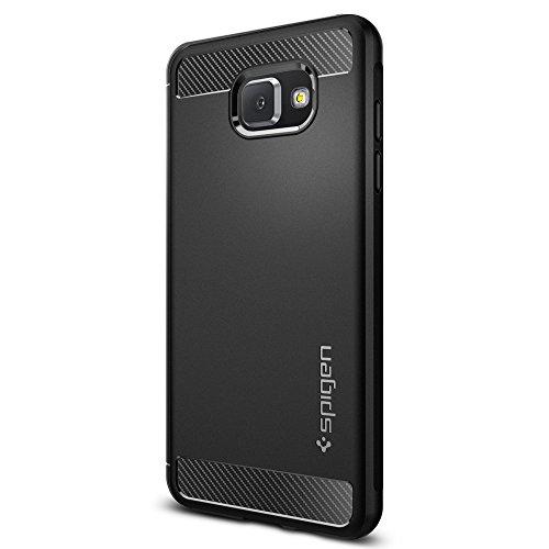 Spigen [Rugged Armor] Coque pour Galaxy A5 (2016) - Noir (SGP11834)