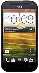 HTC One SV Smartphone (10,9 cm (4,3 Zoll) Touchscreen, Dual-core, 1,2GHz, 1GB RAM, 8GB interner Speicher, 5 Megapixel Kamera, Android 4.0) blau