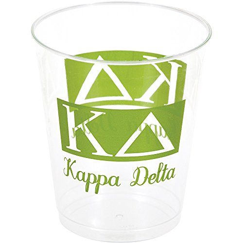 Kappa Delta 10oz Plastic Tumblers