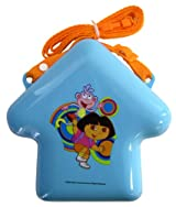 Dora The Explorer Plastic Storage Container - Nickelodeon Dora The Explorer Snack Container (With Strap)