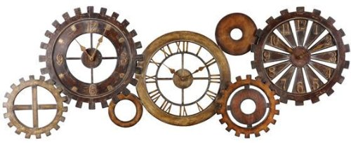 Steampunk Wall Clocks