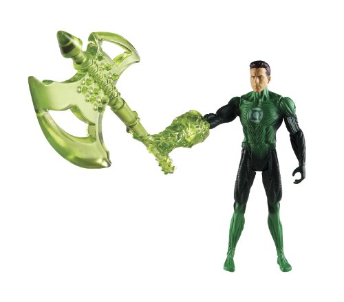 "Green Lantern 4"" Series 03 - Green Lantern Battle Axe Hal Jordan by Mattel"