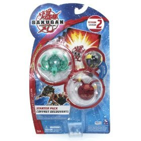 Bakugan Bakuneon New Vestroia Season 2 Series Starter Pack