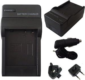 Mobilizers - Chargeur de Batterie de remplacement Caméscope pour CANON LP-E5 LPE5 pour EOS Rebel XSi Kiss X2 X3 T1i 450D 500D 1000D Kiss F
