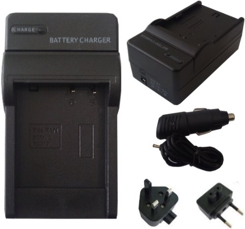 Mobilizers: Replacement 4 IN 1 UK & Europe Camera Battery Travel Charger Pack For Fuji NP-40, NP-60, NP-95, NP-120, For FinePix Z1, Z2, Z3, F455, F460, F610, F811-Zoom 50i, F31fd, F10, F11, M603-Zoom