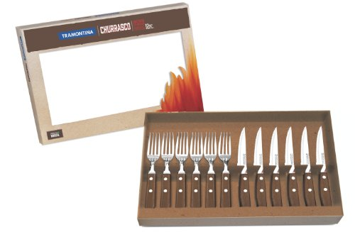 Zodiac - Set posate coltello e forchetta, 12 pezzi