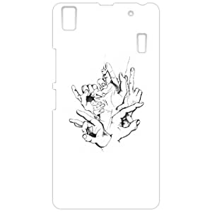 a AND b Designer Printed Mobile Back Cover / Back Case For Lenovo K3 Note / Lenovo A7000 (LEN_K3_Note_3D_3275)