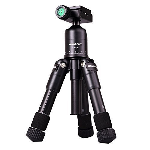 AFAITH-Portable-Folding-Ultra-Aluminum-alloy-Tripod-Compact-Desktop-Mini-Tripod-Kit-with-Ball-Head-for-Canon-Nikon-Pentax-DSLR-Camera