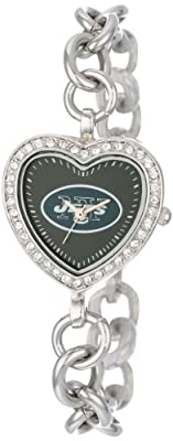NFL Women's FH-NYJ Heart Collection New York Jets Watch