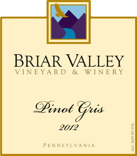2013 Briar Valley Pinot Gris 750 Ml