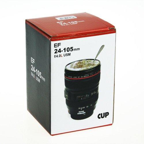 『c15641』 EF 24-105mm f/4.0L USM レンズ風 マグカップ 、 一眼レフ レンズマグ レプリカ タンブラー , フォーチュン オリジナル品
