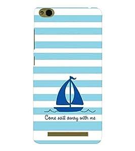 EPICCASE Sail With Me Mobile Back Case Cover For Xiaomi 3S Prime (Designer Case)