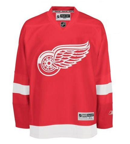 Detroit Redwings Replica Ice Hockey Jersey Snr S