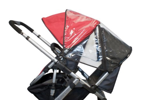 Uppababy Rumbleseat Rain Shield, Clear front-163501