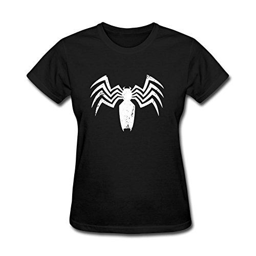STROFA Women's White Spider Short Sleeve T Shirt