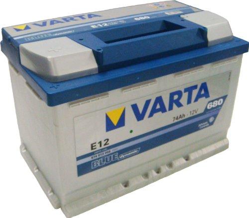 VARTA BLUE DYNAMIC AUTOBATTERIE E12 12V 74AH