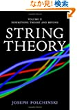 String Theory, Vol. 2 (Cambridge Monographs on Mathematical Physics)