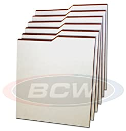 7 BCW NEW Comic Book Dividers - Corrugated