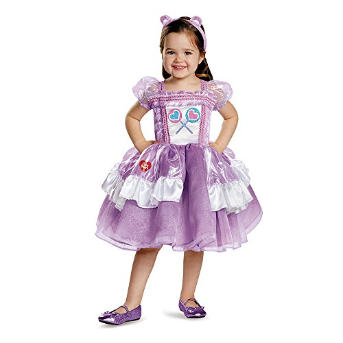 Disguise 86682L Share Bear Deluxe Tutu Costume, Large (4-6x)