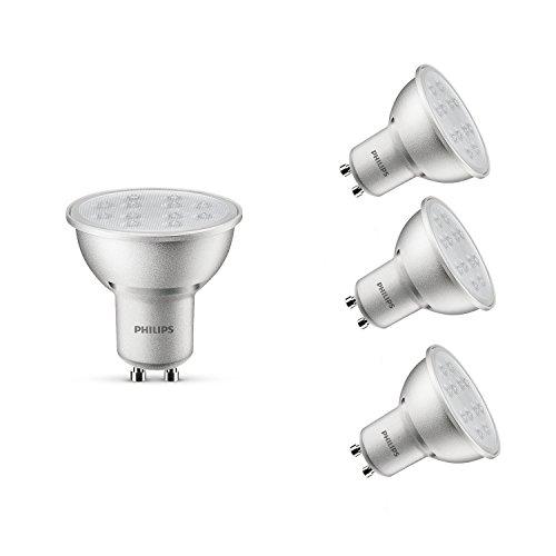 Philips-LED-Strahler-230-V-GU10-5-W-dimmbar-Warmwei-silberfarben-4-Stck-GU10-230-volts