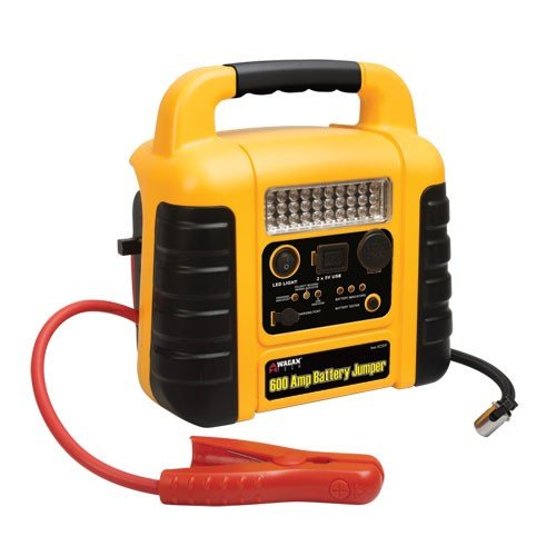 Durable Powerful Wagan 600Amp Jump Starter With Air Compressor
