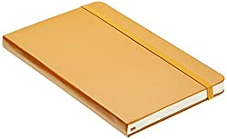 Moleskine Large Orange Hard Cover Plain