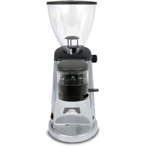 Doserless Electric Flat Burr Coffee Grinder Finish: Polished Aluminum