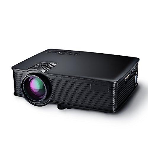 Proiettore-LCD-Mini-Portable-Multimedia-Home-Cinema-con-SD-USB-HDMI-VGA-per-Video-Game-Film-Cortile-Cinema-Supporto-1080P-HD-HDMI-VGA-AV-USB-SD-Card-per-Home-Cinema-TV-Laptop-Giochi-SD-Video-iPhone-Sm