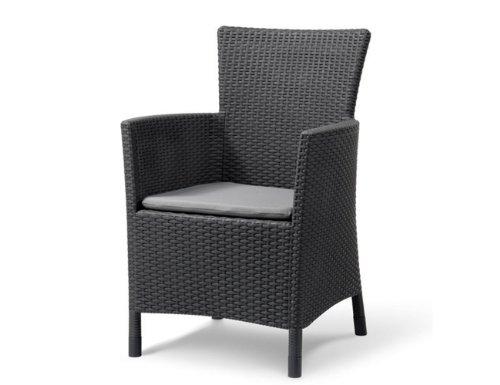 Transcontinental Allibert Montanta Chair - Anthracite Grey